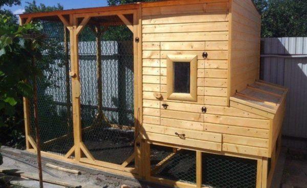 Строительство жилья для птиц начинается из расчетов габарита курятника