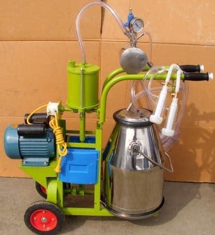Доильный аппарат для козы