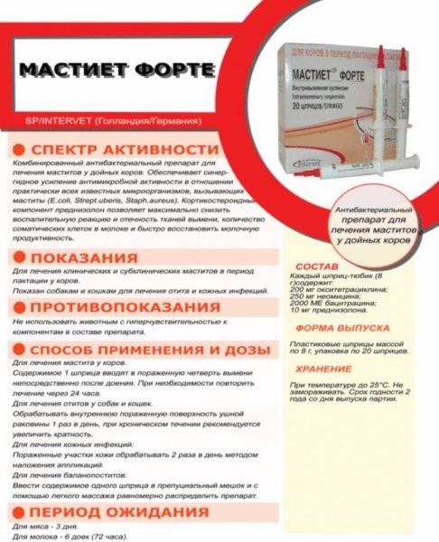 Мастиет Форте