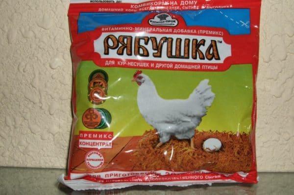 Премикс Рябушка наиболее популярен среди фермеров