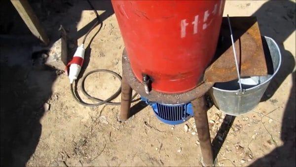 Корморезка из газовогобаллона