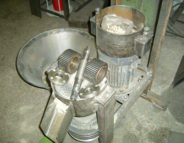 Изготовление гранулятора своими руками