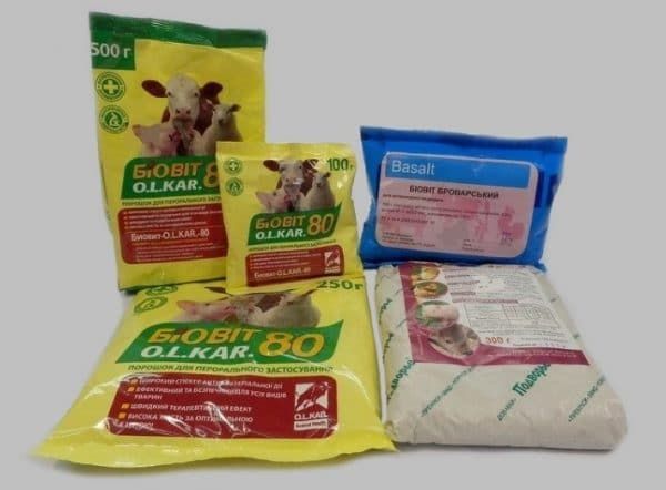 Препарат выпускается в бумажных пакетах или мешках разного веса