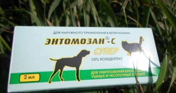 Энтомозан используют для купки овец, лечения чесотки у свиней, северных оленей, борьбы с гнусом КРС на пастбище, дезинсекции пушных зверей