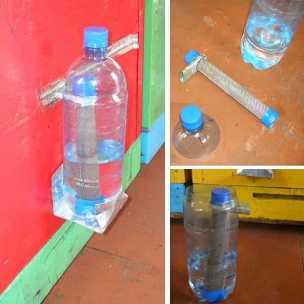 Из пластиковой бутылки