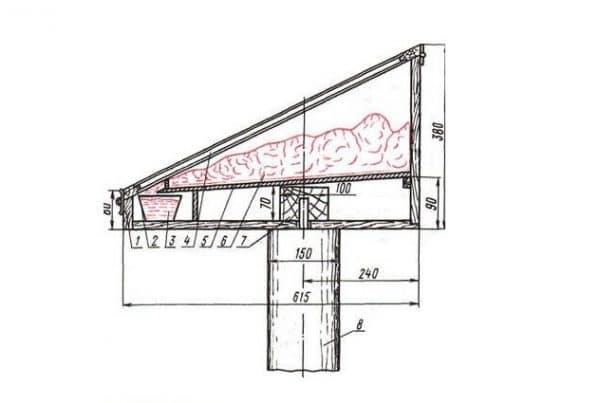 Солнечная воскотопка своими руками: чертежи и пошаговая инструкция